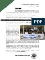 Informativo Anef AtacamaJunio
