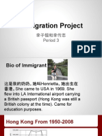 immigrant chinese project