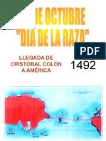 CRISTOBAL COLON - Día de la raza.pps