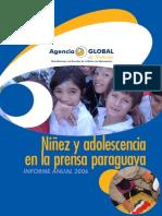 NINEZ Y ADOLESCENCIA EN LA PRENSA PARAGUAYA 2006 - GI - PORTALGUARANI