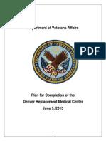 VA Completion Plan