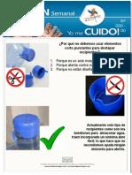 Boletin Actividad Segura Al Destapar Un Botellon de Agua