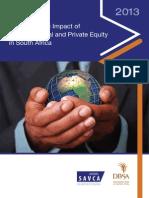 SAVCA DBSA Economic Impact Study 2013
