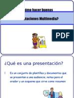 Cómo Hacer Buenas Presentaciones