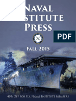 Naval Institute Press Fall 2015 Catalog