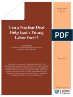 Can a Nuclear Deal Help Iran's Young Labor Force?