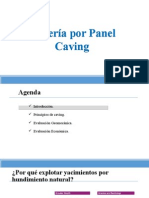 Minería Por Panel Caving.