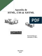 Apostila HTML,Xhtml e Css
