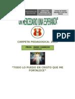 Carpeta Pedagogica de Juan