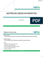 2015-05-07 Gestión Del Riesgo en Proyectos2