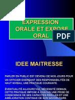 Expression Orale Et Expose Oral
