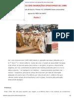 Estudo Teológico Das Sagrações Episcopais de 1988