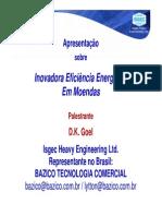 Inovadora Eficiência Energética Em Moendas