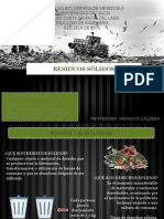 Saneamiento Ambiental - Residuos Sólidos.pptx