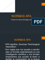 Qué Son Las Normas APA