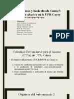 Presentacion -CUA Mayo 2015