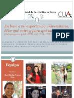 Presentación Entrevistas Grupales - CUA FINAL