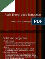 Audit Energi ANW