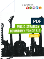 Downtown Yonge BIA Music Strategy