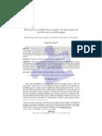 Percursos e tendências recentes da formação de professores em Portugal