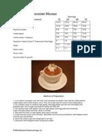 Mocha Latte Chocolate Mousse