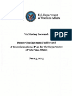 VA Letter to Congress June 2015