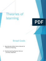 theories of learning march 01, 2014 modificacion