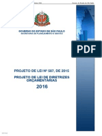 Propositura (PL LDO 2016 SL)