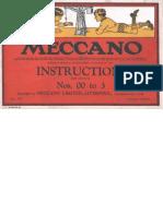 Meccano, 1930 00-3