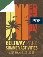 Beltway Summer Preview 2015