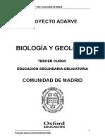 Programacion Adarve Biogeo 3ESO Commadrid