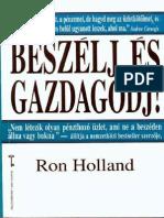 Ron Holland Beszelj Es Gazdagodj
