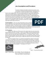 methods assumptions and procedures