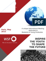WSF General Presentation 2015