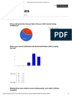 rocket readers (title i) parent survey - google forms