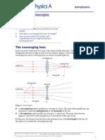 PhysicsA2 OptionAstrophysics Telescopes