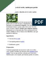Batido diurético de té verde y melón para perder pes1.docx