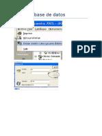 01 Cambiar Base de Datos Y Datos Generales