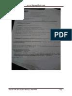 Examen de Fin de Formation Theorique 2013 Tsgo