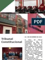 Exposición Final de Tribunal Constitucional