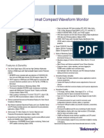 Wfm5250 Sdi Hdmi Hdcp Monitoring