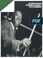 Mosaic Art Blakey & The Jazz Messengers 1960 Blue Note Discography
