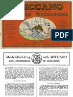 Meccano, 1929 Mechanisms