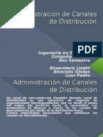 Administración de Canales de Distribución