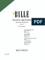 Bille Nuovo Metodo Vol.2