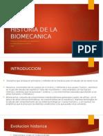 Historia de La Biomecanica Clase 1