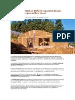EcoPaja Presentará en BioNavarra Paneles de Paja Industrializados Para Edificar Casas