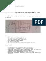 Studiul Rezonantei de Tensiune Intr Un Circuit RLC Serie