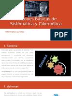 Sistématica y Cibernética