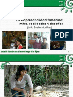 Empresarialidad Femenina